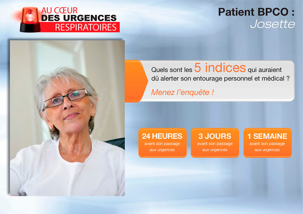 Introduction de l'application Urgences Respiratoires