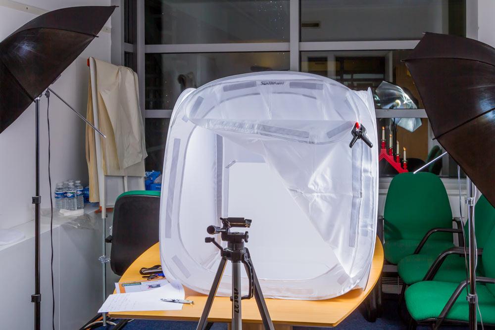 Mini-studio dans un espace réduit